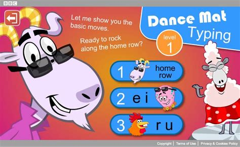 Dans Mat Typing by Mat Typing Typing Practice Level 1 Stage S 1 2