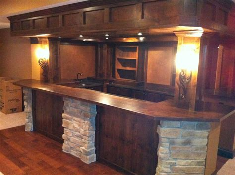Home Bar Design Pictures Kitchen Remodeling Bathrooms And Basements Kitchen