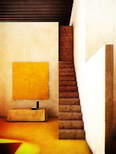 inspiration color block architecture  luis barragan