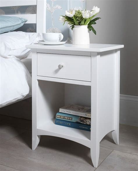 best 25 bedside tables ideas on stands - White Bedroom Table Ls