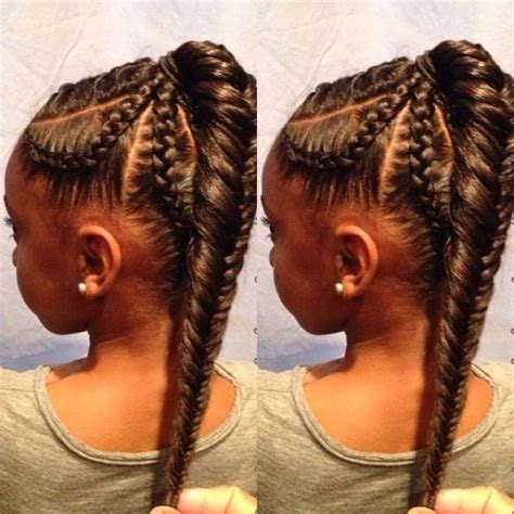 african fish style bolla hairstyle with braids 14 flattering hairstyles for african american women