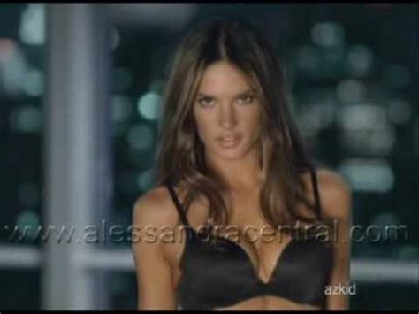 Next Fall 2007 Ad With Alessandra Ambrosio And Paul Sculfor by Alessandra Ambrosio In S Secret Braguide