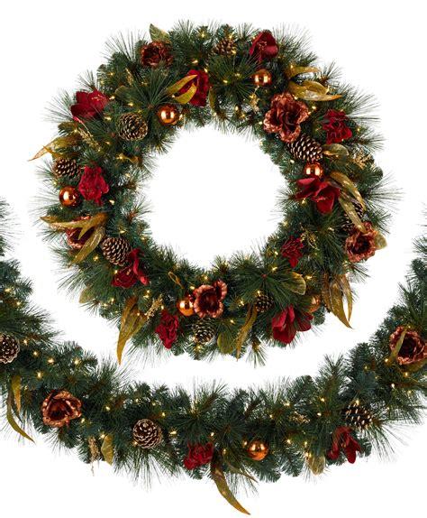 christmas wreath venetian elegance christmas garland tree classics