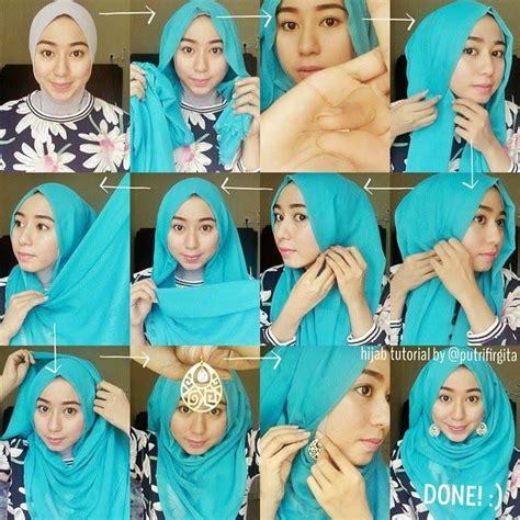 tutorial hijab ayyih hijab tutorial with jewellery hijaberduit