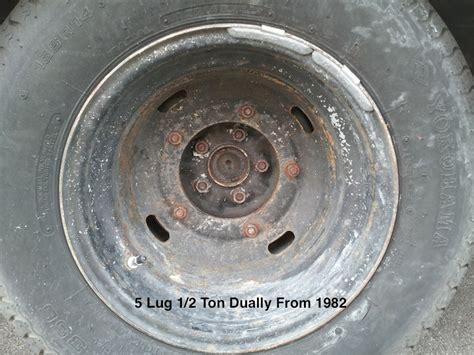 help must rear axles between 82 5 lug 1 2 ton dually
