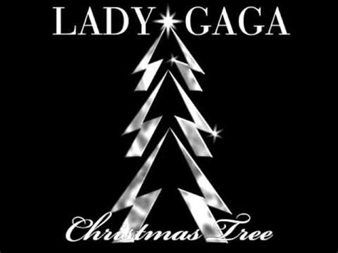 lady gaga christmas tree demo version youtube