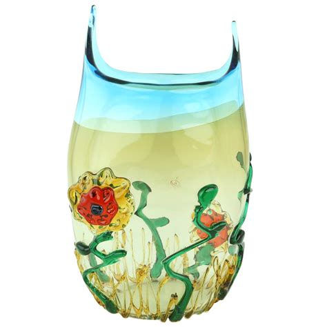 Abstract Vase by Murano Glass Vases Murano Glass Abstract Flower Vase