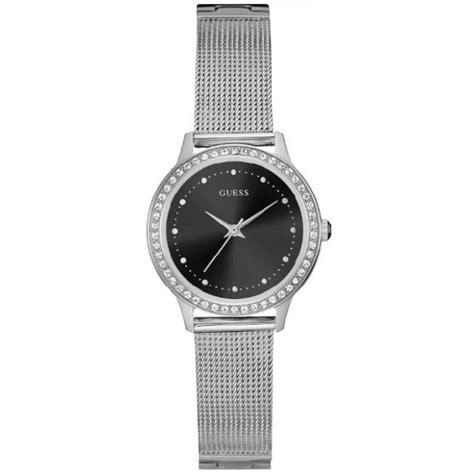 montre guess chelsea w0647l5 montre cadran noir femme sur bijourama montre femme pas cher en