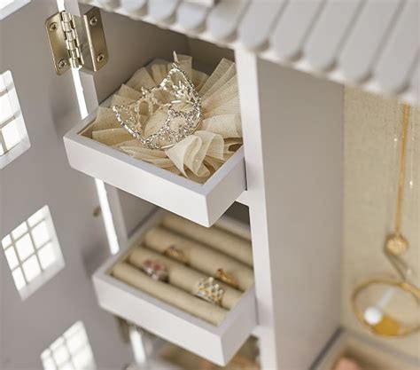 Dollhouse Jewelry Cabinet   Pottery Barn Kids
