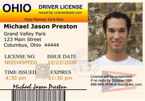 ohio license ohio drivers license