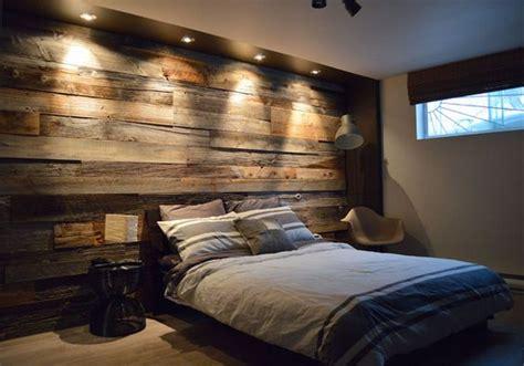 d馗o mur chambre mur en bois de grange dans une chambre am 233 nagements