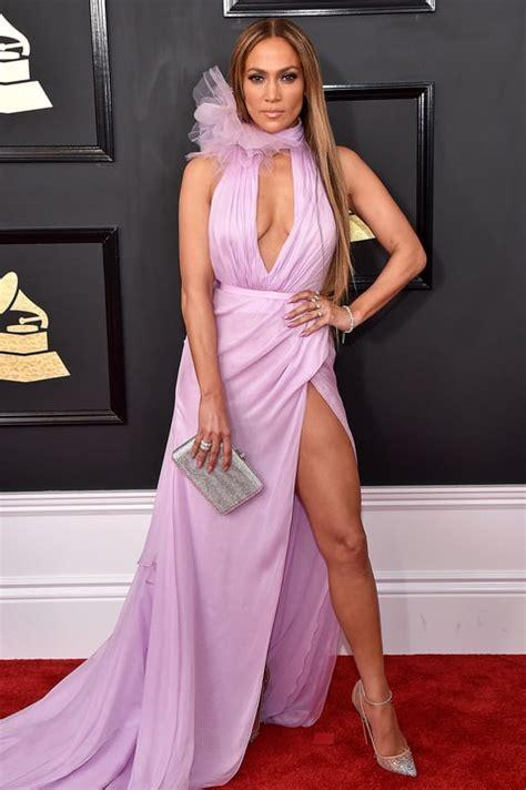 Style Jlos Dress by 2017 Grammys Peekaboo Style Stun In Keyhole Dresses