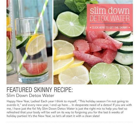 Slim And Detox Burner by Slim Detox Water Grapefruit Mint Lemon Lime