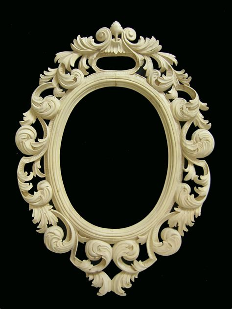mirror frames wooden mirror frame circus pinterest carving wood