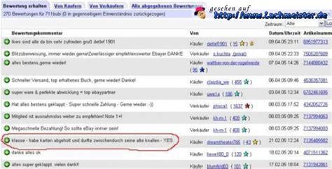 Positive Bewertung Schreiben by Lustige Ebay Bewertung