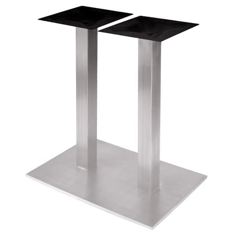 rsq1828 stainless steel table base dining height 28 1