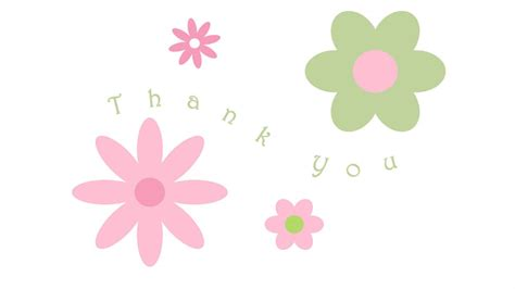 Thank You Letter Background Thank You Email Stationery Stationary Floral Thank You Notes