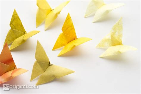 How To Make A 3d Origami Butterfly - best origami butterfly go origami