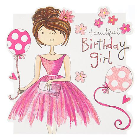 printable birthday cards for a teenage girl happy birthday lady google search cards for youth