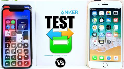 anker fast charger iphone x iphone x vs iphone 8 plus battery test anker fast