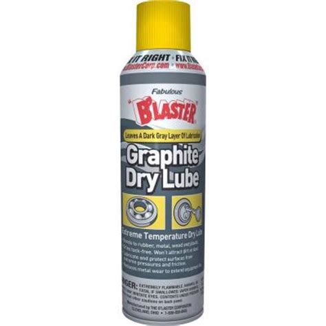 Blaster Garage Door Lube Blaster 9 3 Oz Garage Door Lubricant 16 Gdl The Home Depot