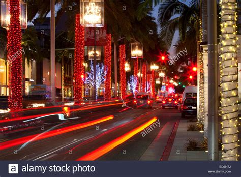 beverly hills christmas lights christmas decorations rodeo drive beverly hills
