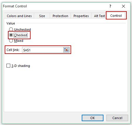 format excel cell as checkbox how to insert and use a checkbox in excel