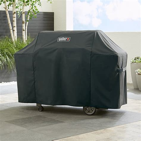 Weber Grill Cover by Weber Genesis Grill Cover Crate And Barrel