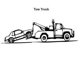 tow color the stylish and gorgeous tow truck coloring pages