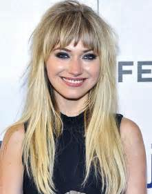choppy hairstyles with a fringe choppy bangs hairstyles haircuts hairdos careforhair