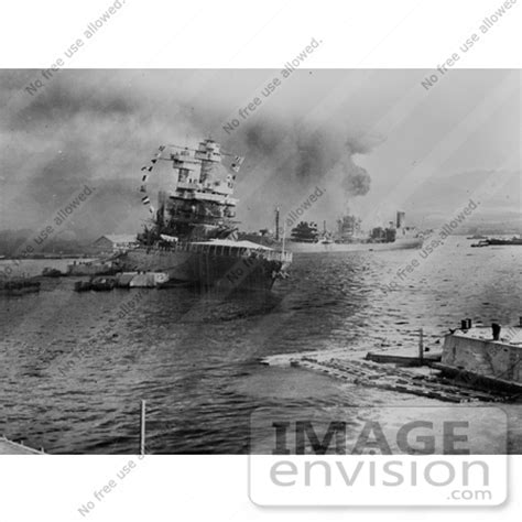 picture of tanker uss neosho during attack on pearl harbor 11407 by jvpd historical