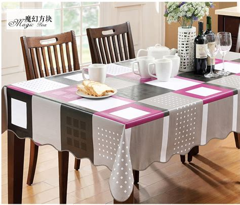 glass dining table cover yd europe waterproof table cover magic box plastic pvc