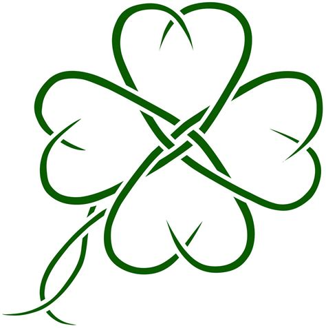celtic clover tatto design by seanroche on deviantart