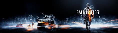 3840x1080 wallpaper video game soldier battlefield 3 video games military tank