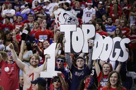 best basketball student sections gonzaga men have the talent to reach a final four and