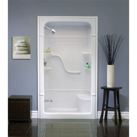 lowes bathroom shower stalls tips for choosing a fiberglass shower enclosure rafael home biz