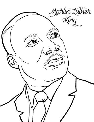 printable coloring pages martin luther king jr martin luther king jr coloring pages and worksheets best