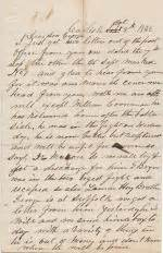 Release Letter Curtin 1862 Dickinson College