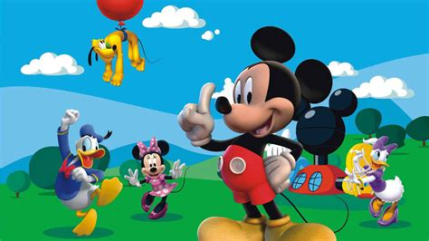 Mickey Mouse Clubhouse Wall Mural mickey mouse wallpapers images photos pictures backgrounds