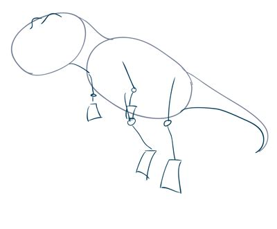 Drawing T Rex Step By Step by How To Draw A T Rex Dinosaur Sketchbook Challenge 25
