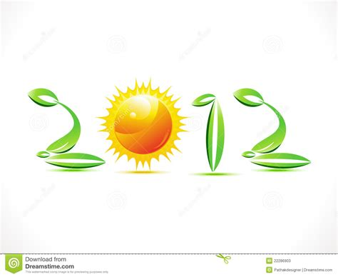 new year is based on abstract eco based new year text stock photos image