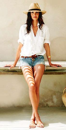 The White Jean Is All About And Summer by This Casual Look Cutoff White Button Up Shirt