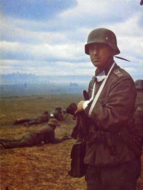 nazi jerman foto berwarna medis wehrmacht  luka