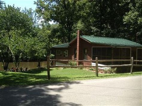 Townsend Tennessee Cabin Rentals by Smoky Mountain Riverfront Cabin In Townsend Vrbo