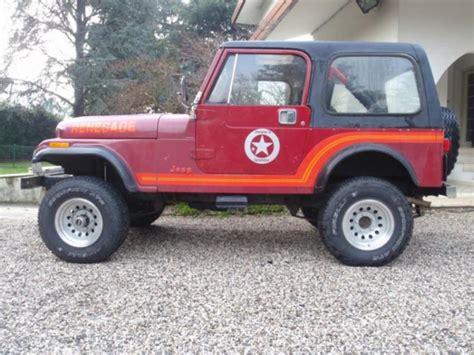 jeep renegade targa top jeep cj7 renegade auto e moto d epoca storiche e moderne