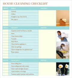 professional cleaning checklist templates sle house cleaning checklist 5 documents in word pdf