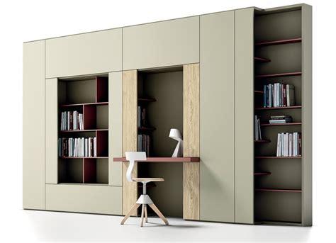 librerie per salotti libreria con piano per scrittura per salotti moderni