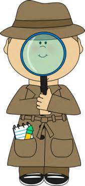 detective with magnifying glass clip art detective with