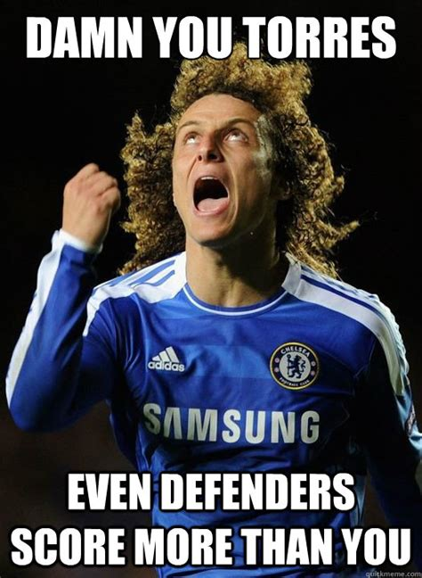 damn you torres even defenders score more than you mad