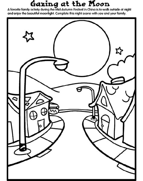 Mid Autumn Festival Coloring Pages mid autumn festival coloring page crayola